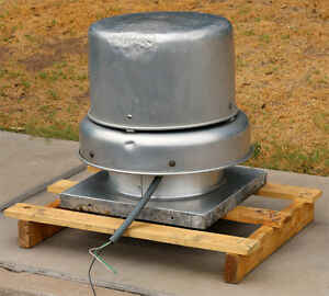 Greenheck Gb 90 4 x Centrifugal Roof Exhaust Fan