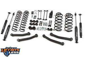 Zone Offroad J11 4 Full Suspension Liftkit For 2003 2006 Jeep Wrangler Tj M Usa