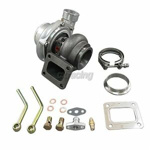 Universal Gt35 T4 Turbo Charger Anti surge 500 Hp 68 A r 3 Stainless V band