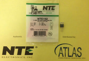 Nte Nte152 Transistor Npn Silicon 90v Ic 4a To 220 Audio Power Amp Medium Speed