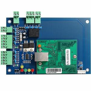 Wiegand Tcp ip Network Access Control Board Panel Controller For 1 Door 2 Reader
