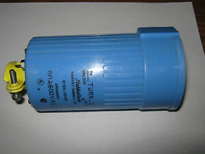 Hubbell Hbl26516 Hubbellock Connector 60a 600v 4p 5w Inspected Warranty