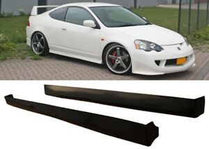 2002 2004 Rsx Type R Jdm Side Skirts Skirt Black Abs Right And Left Brand New