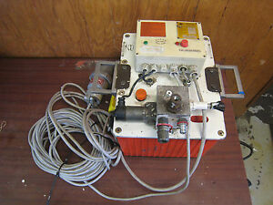 Maschinenfabrik Wagner Electric Hydraulic Torque Wrench Power Pack Controll Unit