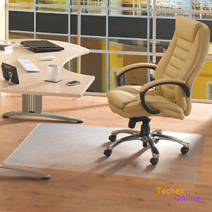 Office Computer Work Chair Mat Vinyl 80x80 Cm New Carpet Floor
