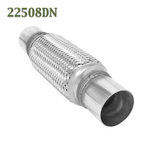2 25 X 8 W Ends Flex Pipe Coupling Quality Stainless Steel Triple Ply