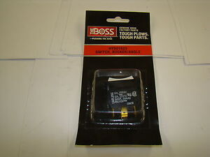 Boss Hyd01623 Rocker Switch Angle For Boss Snowplow
