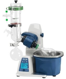 New Scilogex Re100 pro Rotary Evaporator W vertical Dry Ice Condenser 61113206