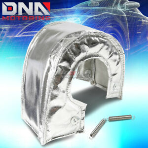 T6 Gt55 Gt40 Turbo Charger Turbocharger Exhaust Chrome Heat Shield Blanket Cover