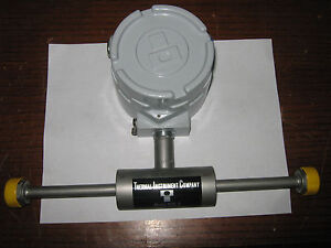 Thermal Instruments Model 600 9 In line Thermal Mass Flow Meter New