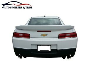 546 Painted Factory Style Ss Spoiler Fits The 2014 2015 Chevrolet Camaro