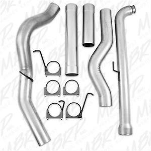 Mbrp 5 Turbo Downpipe Back Exhaust 01 10 Chevy Gmc Duramax 6 6 Diesel S60200plm