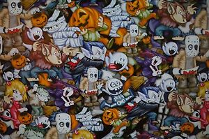 Halloween Hydrographic Film Full Color