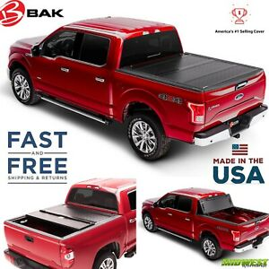 Bak Bakflip G2 Tonneau Hard Fold Cover 12 2018 Dodge Ram 1500 2500 3500 6 4 Bed