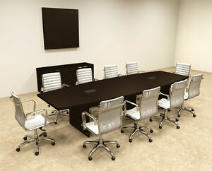 Modern Boat Shapedd 12 Feet Conference Table of con c65