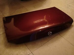 99 05 Mazda Mx 5 Miata Trunk Lid Door Classic Burgundy
