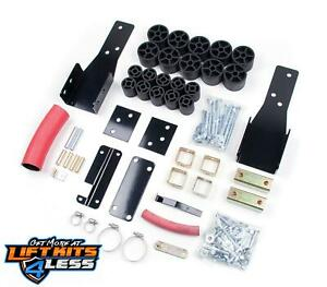 Zone 2 Body Lift Kit 60k Lbs Crush Rating For 98 04 Chevrolet Gmc S 10 2wd 4wd