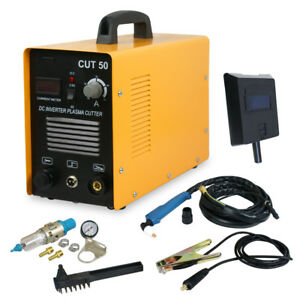 Dc Inverter 50amp Air Plasma Cutter Welding Welder Machine Cut 50 220v 110v