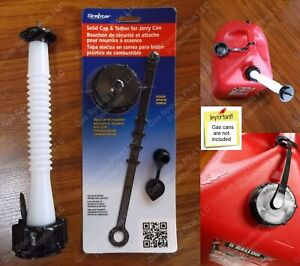 old School Style Gas Can Spout Parts Kit Midwest Scepter Igloo Eagle Moeller