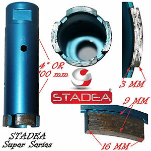 Stadea 1 1 2 Inch Marble Stone Granite Diamond Hole Saw Core Drill Coring Bits