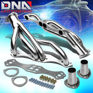 Stainless Clipster F Body Header For 67 81 Small Block Chevy V8 Exhaust Manifold