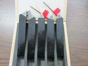 1 Indexable Turning Tool Bits 1x1x6 5pcs set Tcmt32 Inserts Part tobc1 new