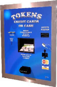 American Changer Ac2207 Cash Coin Credit Card 11 200 Token Dispenser