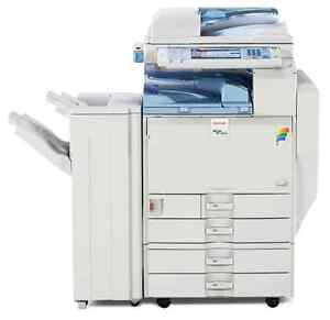 Lanier Ld540c Copier Printer Scanner Fax With Finisher Clean Unit
