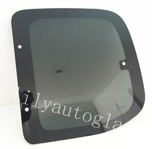 Fit 00 06 Toyota Tundra Pickup 2d Ext Driver Side Left Rear Quarter Glass Window