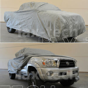 2009 2010 2011 2012 Toyota Tacoma Double Cab 6ft Long Bed Breathable Truck Cover