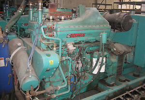 Cummins Qsk19g Chp Cogen Generator Set 334 Kw Natural Gas Or Propane K19 Gas