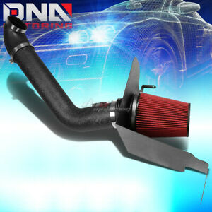 For 2004 2008 5 4l Ford F150 V8 Black Wrinkle Finished Air Intake Heat Shield