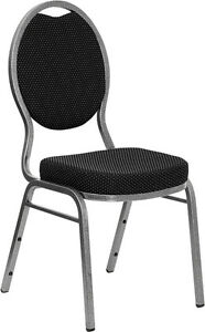 Flash Furniture Hercules Series Teardrop Back Stacking Banquet Chair With