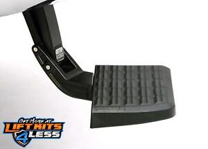 Amp Research Bed Step Trail Series Heavy Duty For 2005 2015 Toyota Tacoma