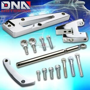 Polished Aluminum Alternator Bracket For Big Block Chevy Short Water Pump Swp