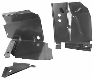 Mustang Torque Box Front 2 Piece Style Coupe Fastback Lh 1969 1970