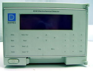 Dionex Ed40 Hplc Chromatography Electrochemical Detector
