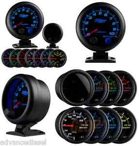 Glowshift Tinted 7 Color 3 3 4 Tachometer Gauge With Shift Light Gs t709