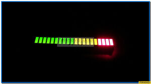 24 X Tri color fixed Led Bargraph Array 20 segs for Led Audio Vu Meter Usa