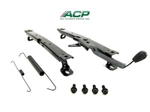 Mustang Seat Track Set One Seat 1971 1972 1973 Acp