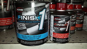 1 Qt Kit Finish 1 Clear Coat Finish1 Fc740 And Fh742
