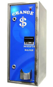 American Changer Ac8002 Automatic Car Wash Pay Station Stainless High Security