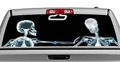 Truck Rear Window Decal Graphic miscellaneous X ray Rosie 20x65in Dc15602