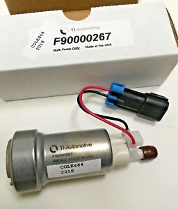 Genuine Walbro Ti Auto F90000267 E85 Racing Fuel Pump Only 450lph Made In Usa