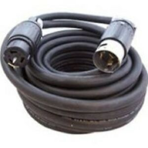 50 Amp 125 250 Volt 50 Ft 6 4 Sow a Rubber Spider Box Cord Ul Listed