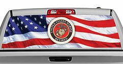 Truck Rear Window Decal Graphic u s Marines Retired 20x65in Dc09502