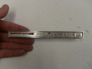 1971 72 Chevy Super Truck Emblem Trim Metal Badge Decal Sign Nameplate Vintage