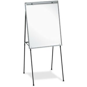 Dry erase Board Easel Rubber Feet 40 70 Black Llr75684