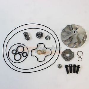 Ford Powerstroke 7 3l Gtp38 Turbo Upgrade 66mm Cast Compressor Wheel Repair Kit