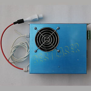 50w Laser Power Supply For Laser Engraving Cutter Machine With 50w Laser Tube